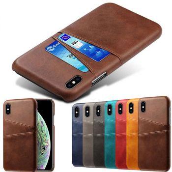 Back Slim Cover Leather Wallet Case For iPhone 12 11 pro max 8 7 6 plus