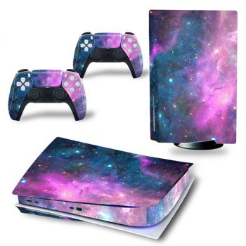 playstation 5 PS5 console gamepad sticker skin cover