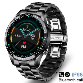 i9 smart watches stainless steel sports fitness watch