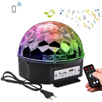YouOKLight RGB Bluetooth LED Disco Ball Light DJ Stage Lighting AC85 - 265V