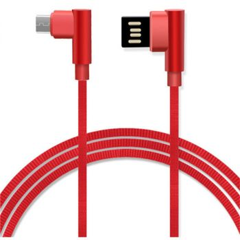 3 in 1 Nylon Braided Magnetic USB Charging Cable iPhone Android Type-C