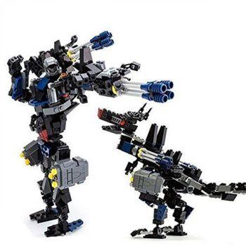 GUDI Building Bricks Robot Earth Border Blocks Toy
