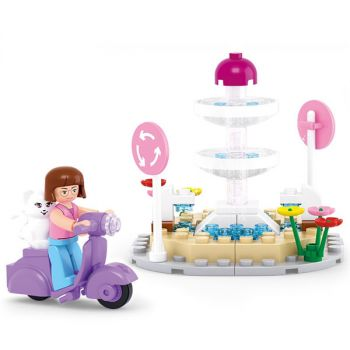 Sluban Building Blocks Kids Toy Eqestrain Horse Toy