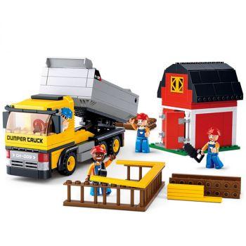 Sluban Building Blocks Educational Kids Toy Camper