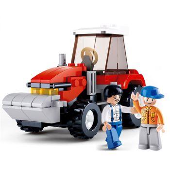 Sluban Building Blocks Mini Van Kids Bricks Toy