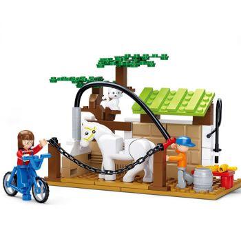 Sluban Building Blocks Kids Toy Distribution Vehicle