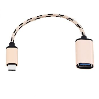 Awei CL - 982 1M Universal Nylon Braided Micro USB Data Wire
