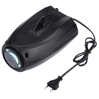 AC 250V 5W LED stage light halloween projector with 4PCS switchable pattern lens