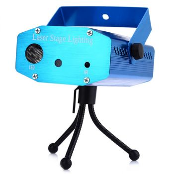 Shop 10W 64 LEDs RGBW stage light auto voice-activated projector lighting