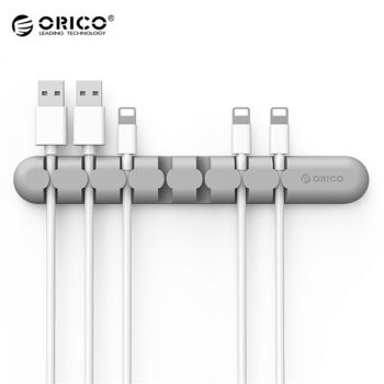 ORICO CBS7 Desktop Cable Storage Management Silicon Charger Wire Organizer