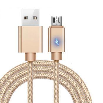 1M Zinc Alloy Flat USB Data Sync Charging Cable Type-C