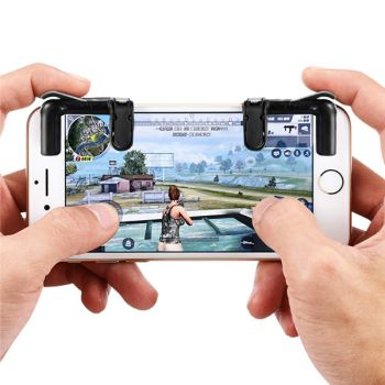 PUBG Mobile Game Fire Button Aim Key Smart Trigger L1R1 Shooter Controller