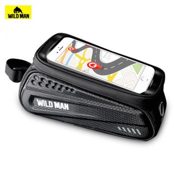 WILD MAN ES3 Electric Scooters Bicycles Touch Screen Front Bag