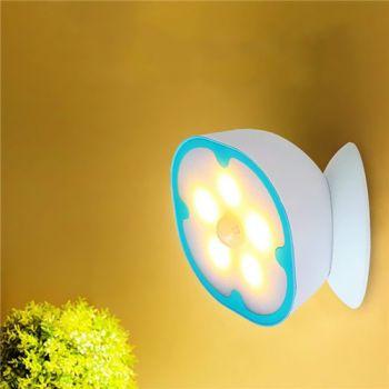 Magnetic Base Induction Body Sensor Wall Night Light