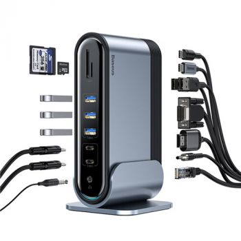Baseus 16 in 1 USB-C Docking Station Adapter