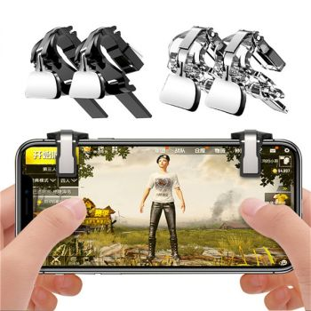 Transparent Mobile Game Fire Button Aim Key Gaming Trigger L1R1 Shooter Controller PUBG
