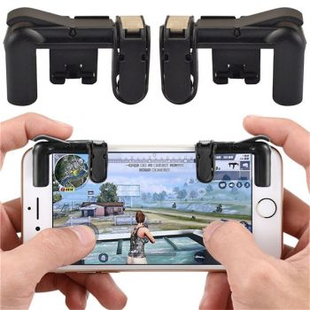 phone gamepad trigger fire button aim key joystick smartphone gaming L1R1 shooter