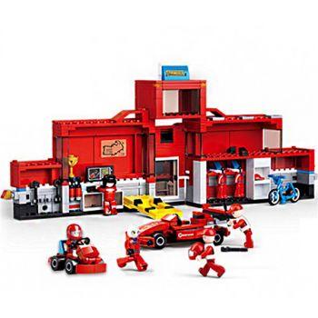 Sluban Aircraft Repair Station Block Set Brick Toys