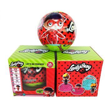 Ladybug Surprise Doll Big size 10CM