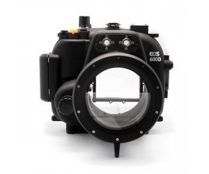 40M waterproof case dslr underwater housing for Canon 600D T3i 18-55