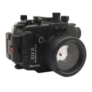 40M Meikon canon g1x mark iii Underwater Housing Waterproof Case