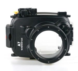 40m Meikon Sony A7/A7R/A7S underwater housing waterproof case