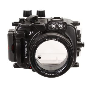 40m Meikon Nikon 1 J5 Underwater Housing Waterproof Case 10-30 & 10mm