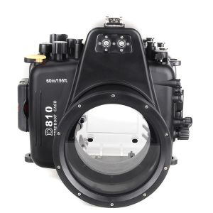 60m Meikon Nikon D810 Underwater Housing Waterproof Case