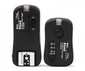 Pixel Pawn TF-364 set 2.4GHz Wireless Flash Trigger Remote Shutter for Olympus Panasonic