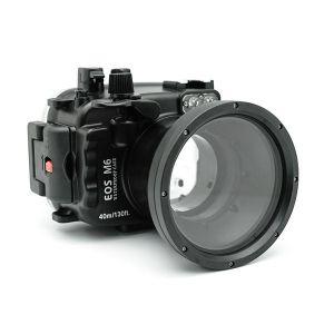 Meikon Canon EOS M6 Underwater Housing Waterproof Case 18-55