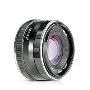 Meike 50mm f/2.0 Fixed Manual Focus Lens for Sony E mount Mirrorless Camera