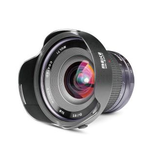 Meike 12mm F/2.8 Wide Angle Manual Foucs Lens For Nikon N1/1 Mount APS-C Mirrorless Cameras