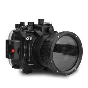 40M Meikon Sony A9 Underwater Housing Waterproof Case