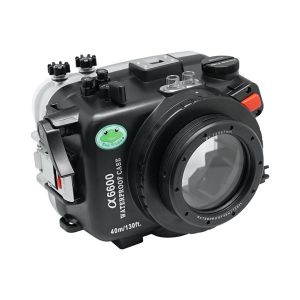 40M Meikon Sony A6600 Underwater Housing Waterproof Case