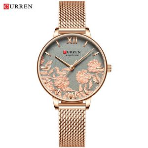 CURREN 9065 womens quartz watch lady bracelet watches