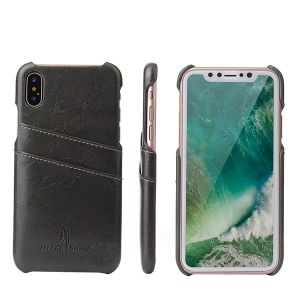 retro waxing leather wallet case for iPhone 12 11 pro max mini 8 7 6 plus C39