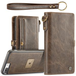 flip leather wallet case pouch for iPhone 11 pro max 8 7 6 plus C48
