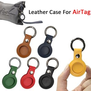 leather protective sleeve cover for airtag