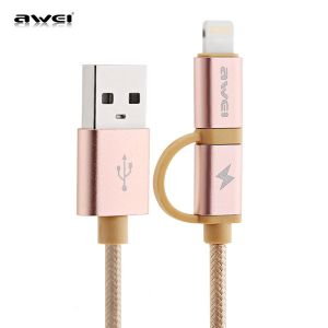 Remax 1m TPE Wire  8 Pin USB Data Sync Charging Cable iPhone iPad iPod
