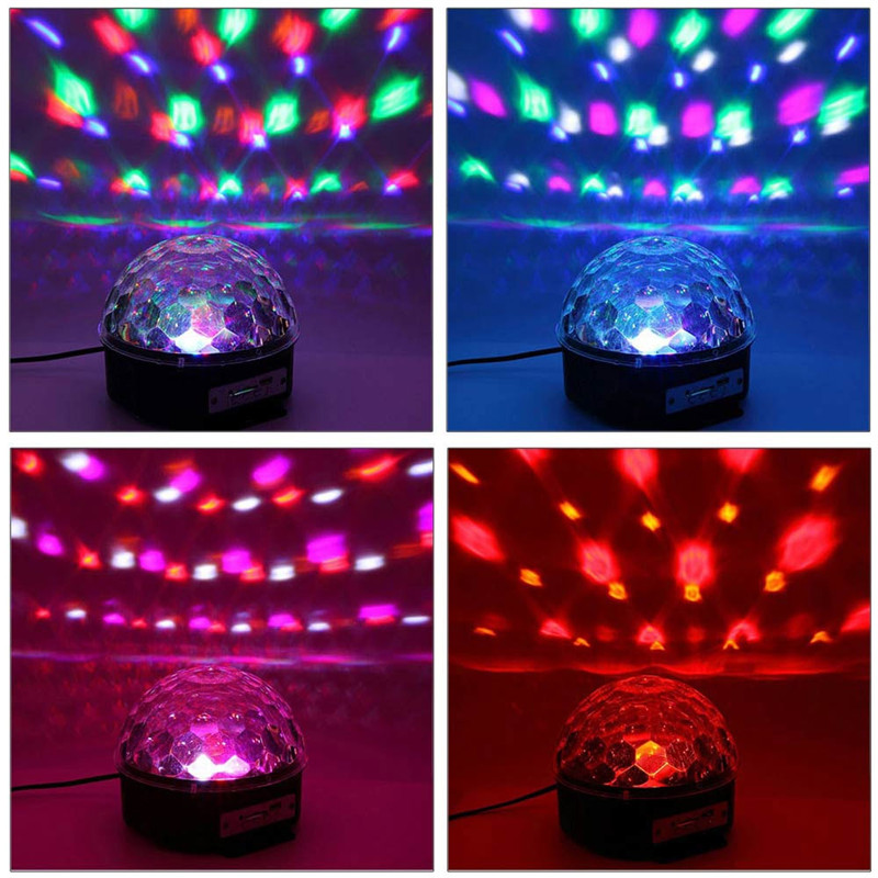 YouOKLight RGB Bluetooth LED Disco Ball Light DJ Stage Lighting