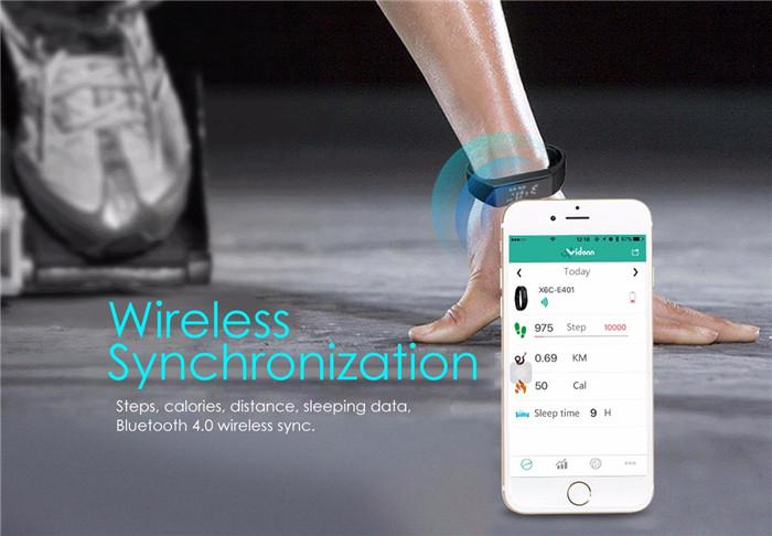 wwholesale Cheetah Design Smart Watch Bluetooth Wristband