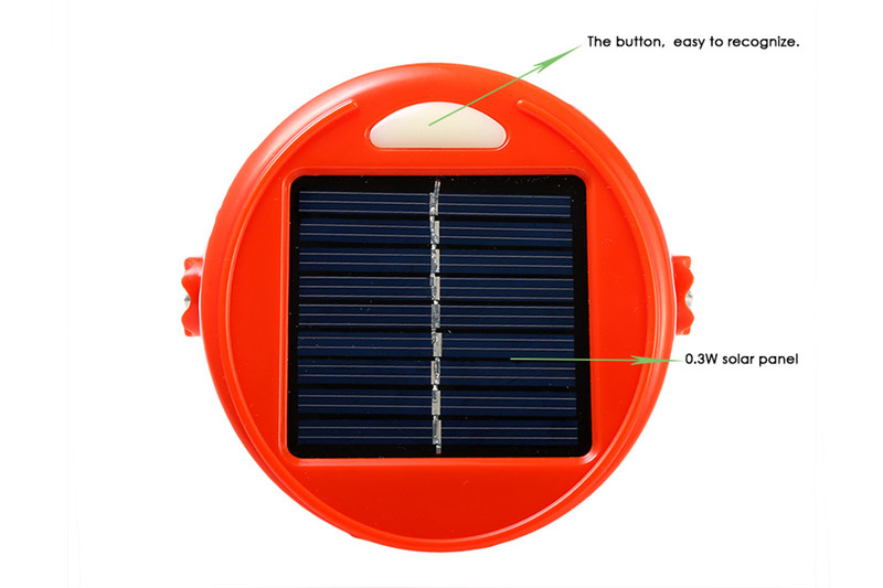 LED solar charge cup portable camping lamp or outdoor flashlight