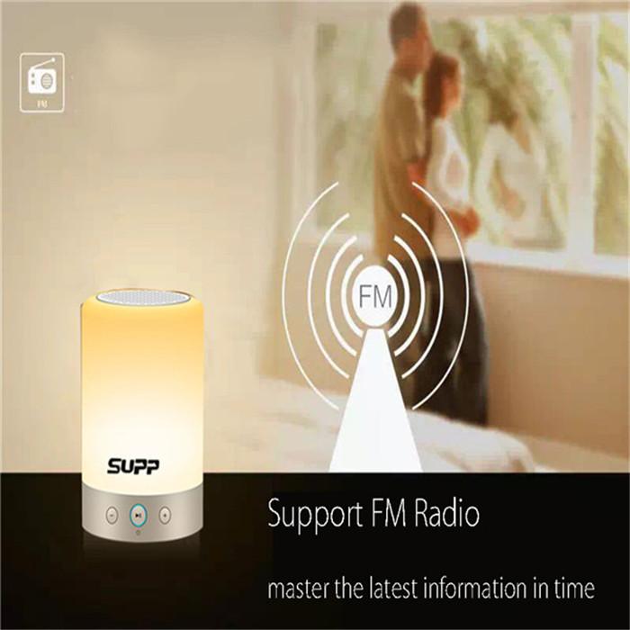 wholesale Portable Touch Sensor Smart Light Bluetooth Speaker Radio
