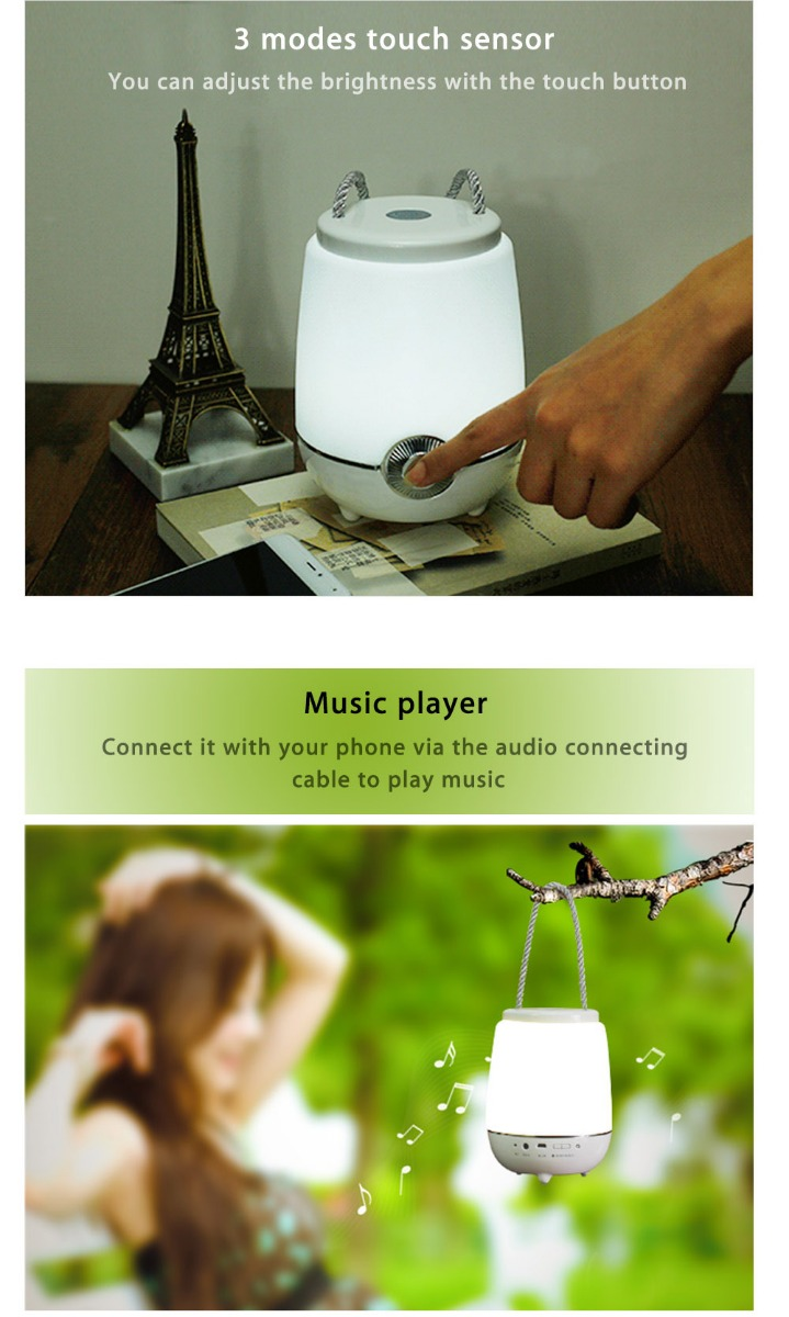 wholesale Portable Dimming LED Music Lamp