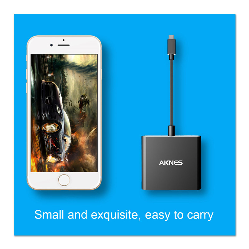 AKNES AH01 Type-C to HDMI Adapter for Switch