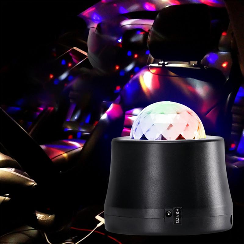 U'King ZQ-B223 6W RGBWPY LED pattern projector lamp effect lighting