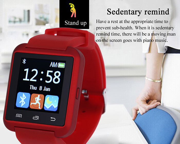 wholesale U8 Smart Bluetooth Watch with Pedometer for Sport