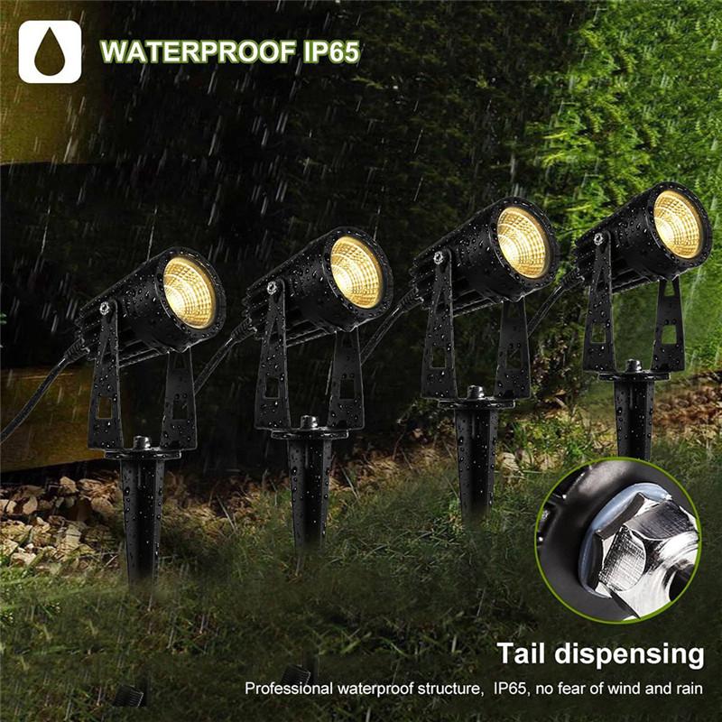 outdoor waterproof LED landscape lights LED garden lights