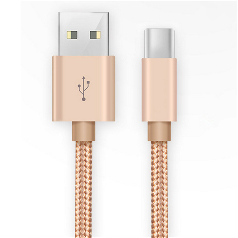 Type C Cable USB C Cable Nylon Braided Fast Charger Sync Cord