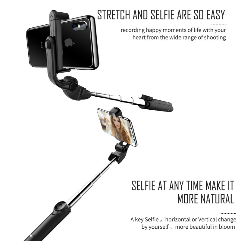 Bakeey Portable Bluetooth Tripod Monopod Handheld Selfie Stick for iPhone 8X